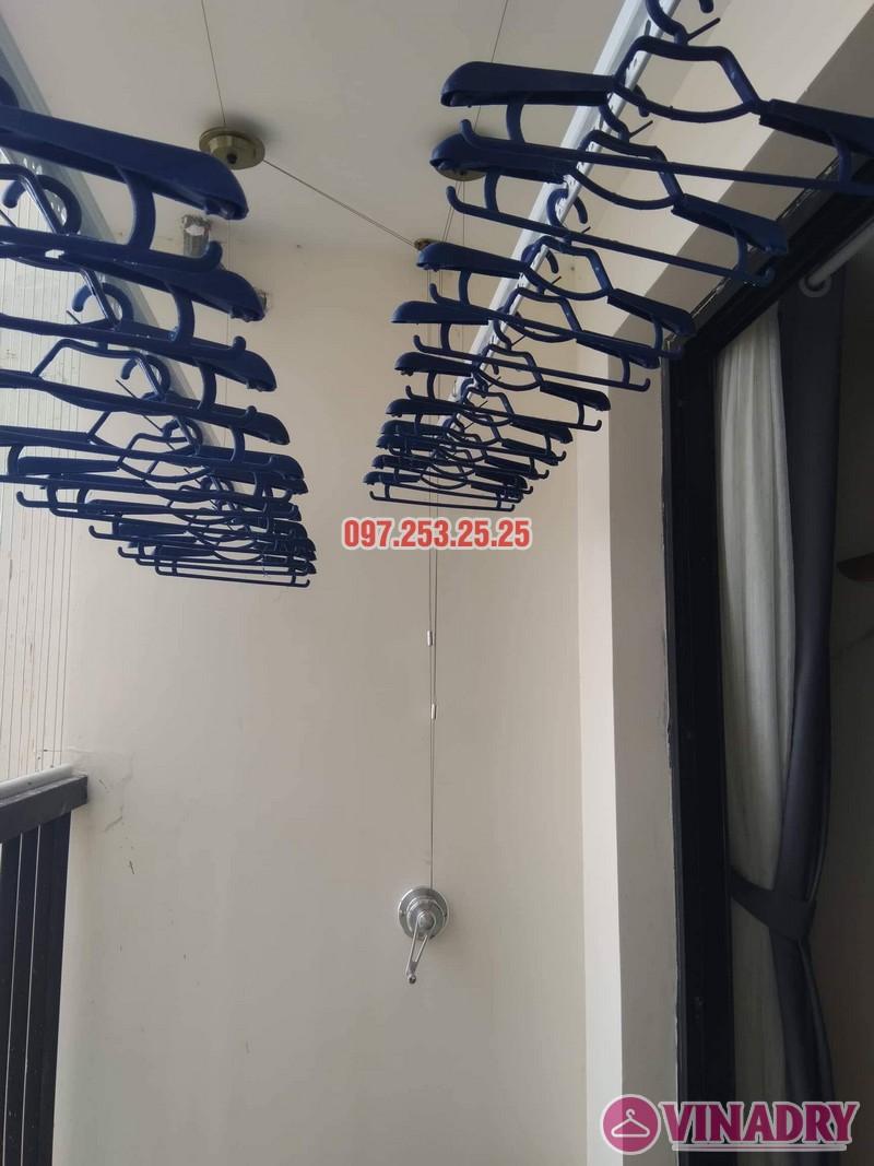 Lắp giàn phơi tại Nam Từ Liêm nhà anh Hậu, căn 2317 tòa Golden Field, 24 Nguyễn Cơ Thạch - 01