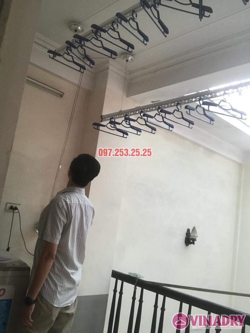 Lắp giàn phơi tại Hoàng Mai, Hà Nội nhà anh Minh, ngõ 151 Nguyễn Đức Cảnh - 01