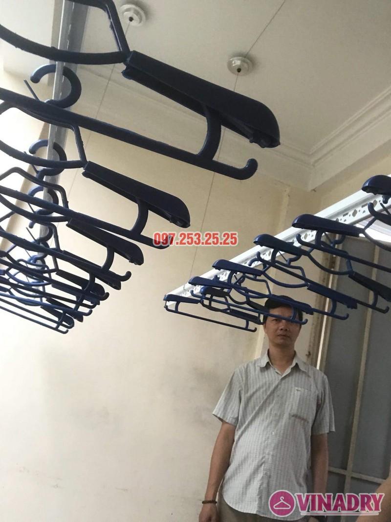 Lắp giàn phơi tại Hoàng Mai, Hà Nội nhà anh Minh, ngõ 151 Nguyễn Đức Cảnh - 05