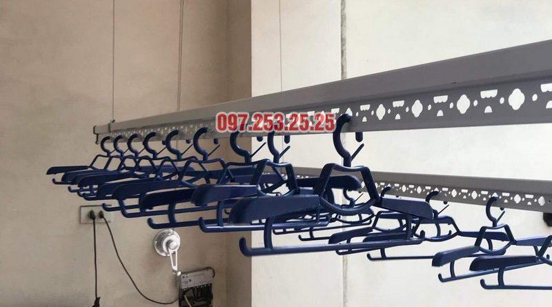 Lắp giàn phơi tại Hoàng Mai, Hà Nội nhà anh Minh, ngõ 151 Nguyễn Đức Cảnh - 08