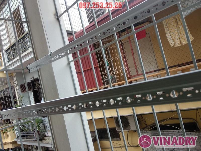 Lắp giàn phơi Hòa Phát Star KS950 nhà chị Minh, Hoàng Mai, Hà Nội - 06