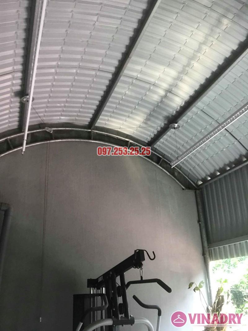 Lắp giàn phơi quần áo thông minh tại Sóc Sơn Hà Nội nhà anh Đan - 06