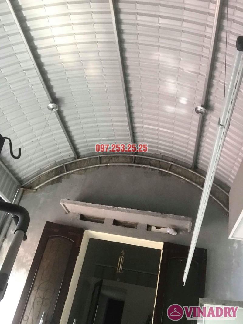 Lắp giàn phơi quần áo thông minh tại Sóc Sơn Hà Nội nhà anh Đan - 03
