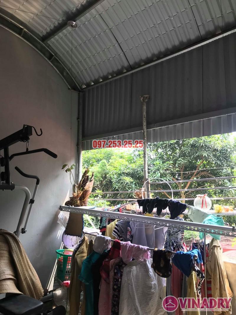 Lắp giàn phơi quần áo thông minh tại Sóc Sơn Hà Nội nhà anh Đan - 01