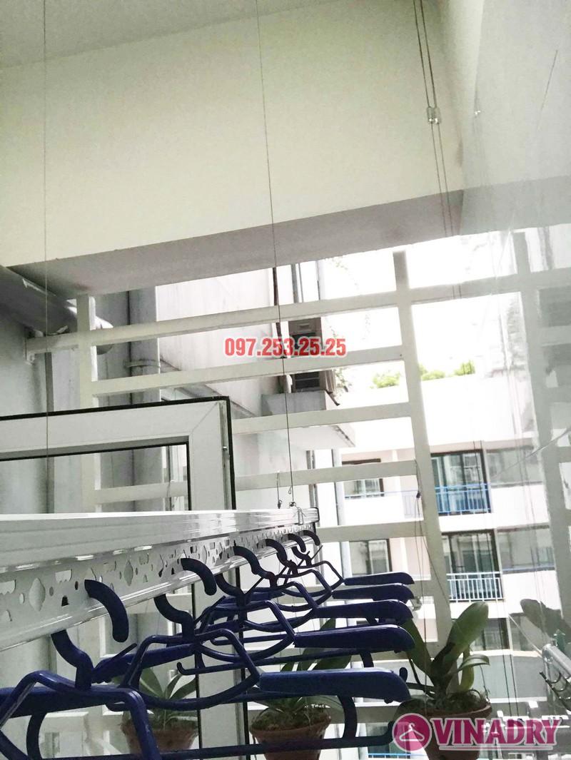 Lắp giàn phơi Ba Đình nhà anh Kiên, Tòa Artex Building, 172 Giảng Võ - 02