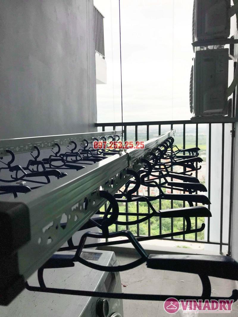 Lắp giàn phơi thông minh cao cấp nhà anh Hải, KĐT Gamuda Garden - 01
