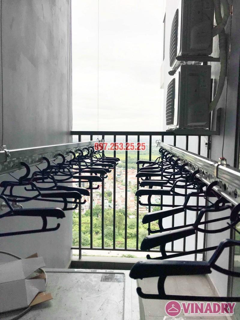 Lắp giàn phơi thông minh cao cấp nhà anh Hải, KĐT Gamuda Garden - 03