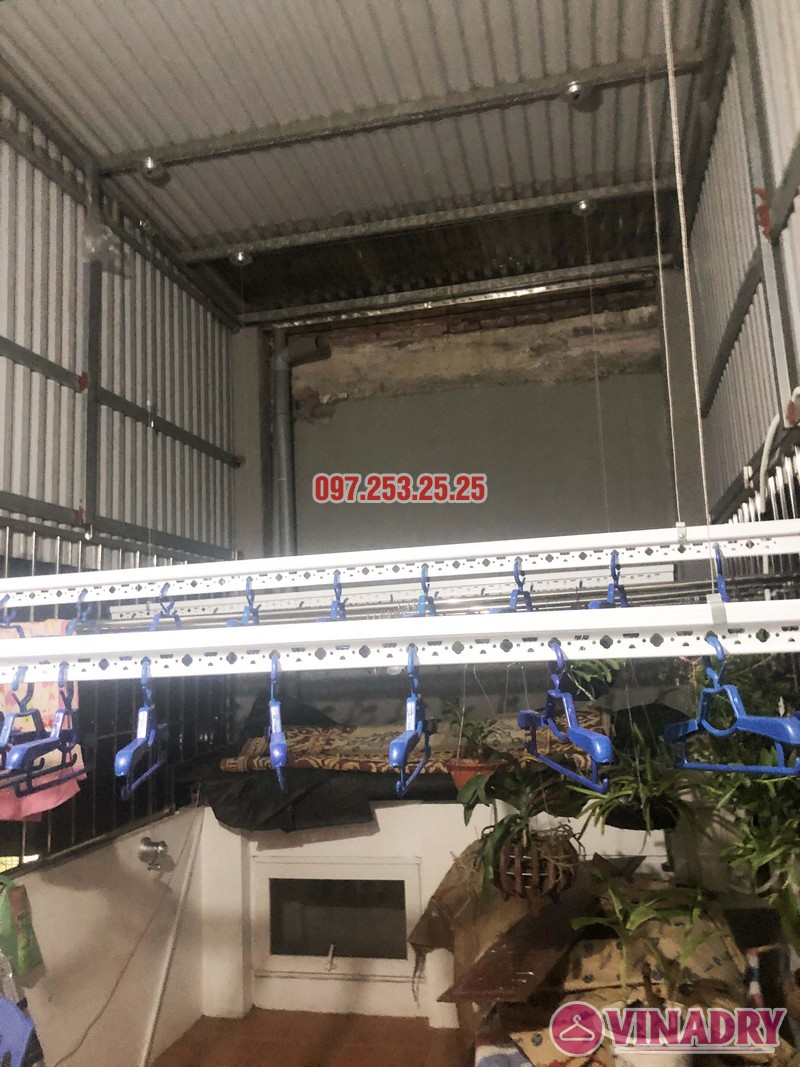 Lắp giàn phơi thông minh KS950 tại Ninh Hiệp, Gia Lâm, Hà Nội nhà anh Thiện - 04