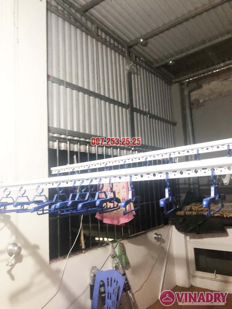 Lắp giàn phơi thông minh KS950 tại Ninh Hiệp, Gia Lâm, Hà Nội nhà anh Thiện - 05