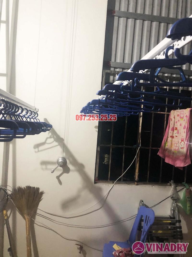 Lắp giàn phơi thông minh KS950 tại Ninh Hiệp, Gia Lâm, Hà Nội nhà anh Thiện - 06