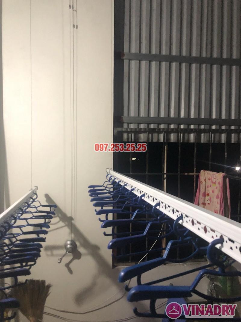 Lắp giàn phơi thông minh KS950 tại Ninh Hiệp, Gia Lâm, Hà Nội nhà anh Thiện - 07