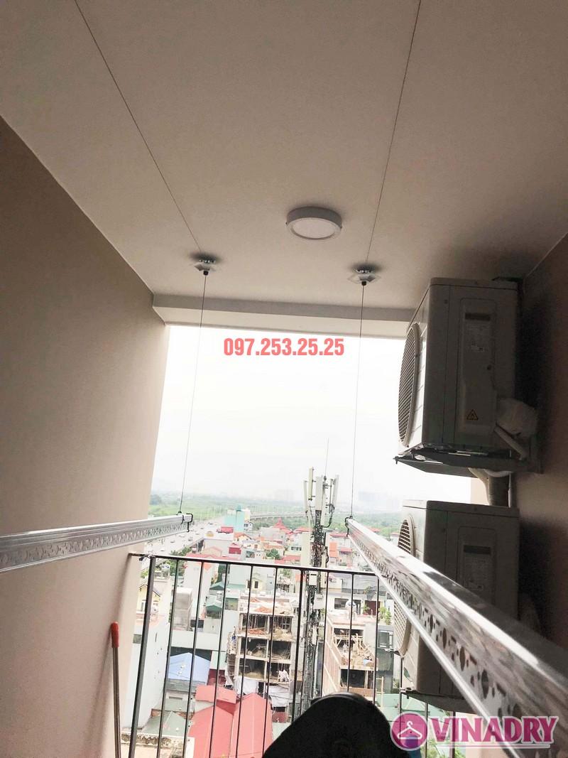 Lắp giàn phơi Hòa Phát nhà anh Giang, căn 1102 chung cư Northern Diamond Long Biên - 03
