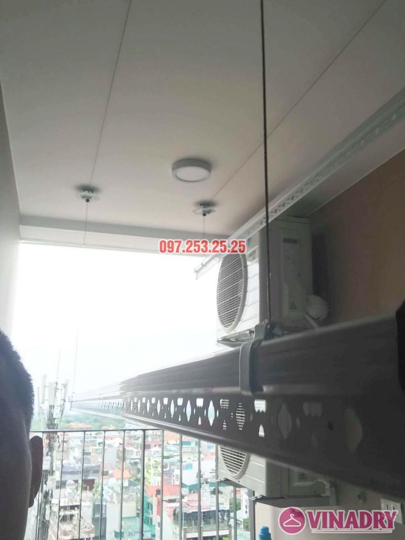 Lắp giàn phơi Hòa Phát nhà anh Giang, căn 1102 chung cư Northern Diamond Long Biên - 04