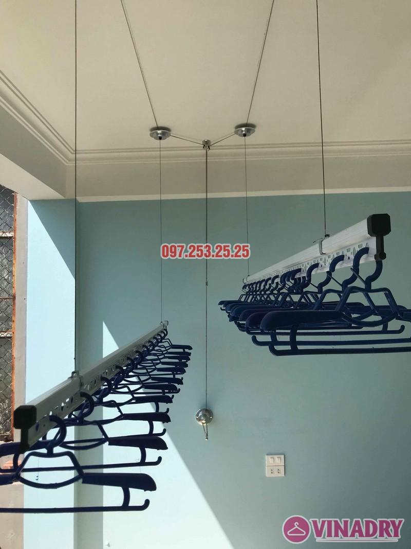 Lắp giàn phơi thông minh Hà Đông nhà chị Minh, thôn Đa Sỹ, Kiến Hưng - 03