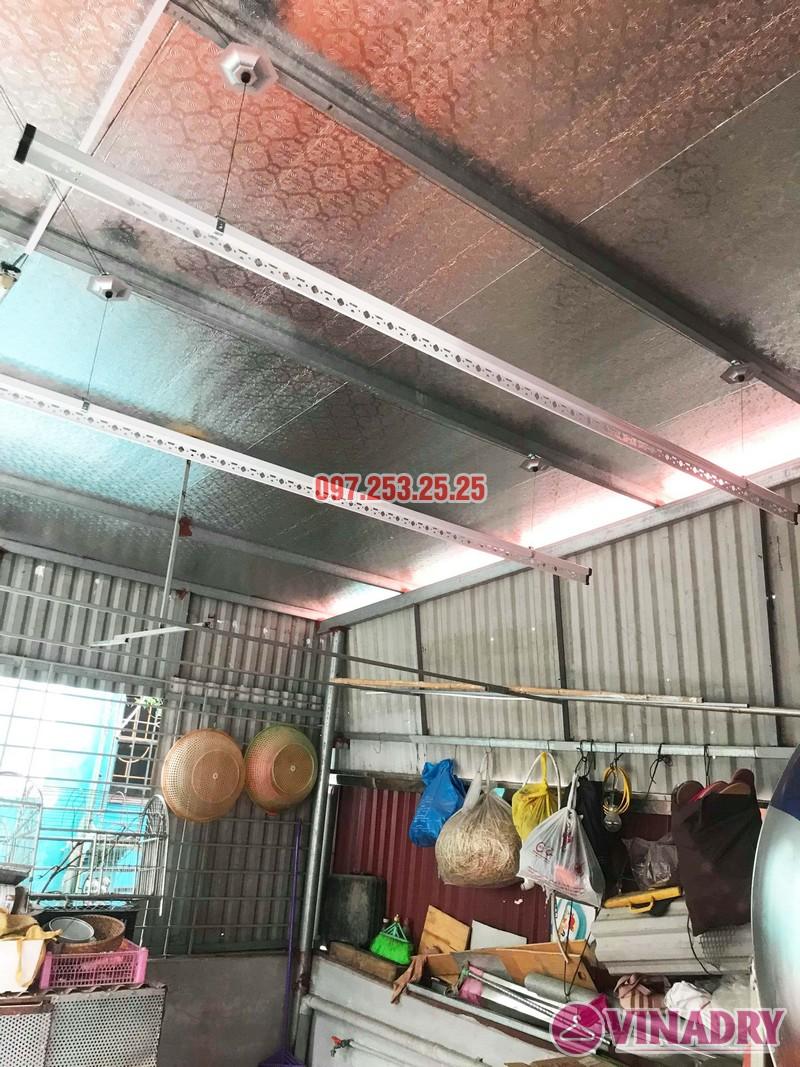 Lắp giàn phơi tại Hai Bà Trưng nhà anh Tiền, ngõ 230 Lạc Trung - 01