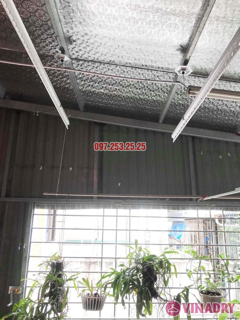 Lắp giàn phơi tại Hai Bà Trưng nhà anh Tiền, ngõ 230 Lạc Trung - 02
