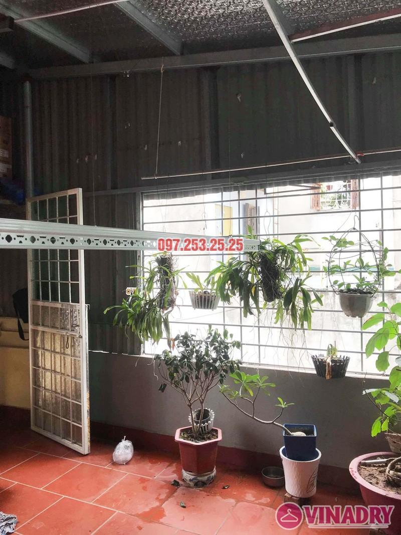 Lắp giàn phơi tại Hai Bà Trưng nhà anh Tiền, ngõ 230 Lạc Trung - 03