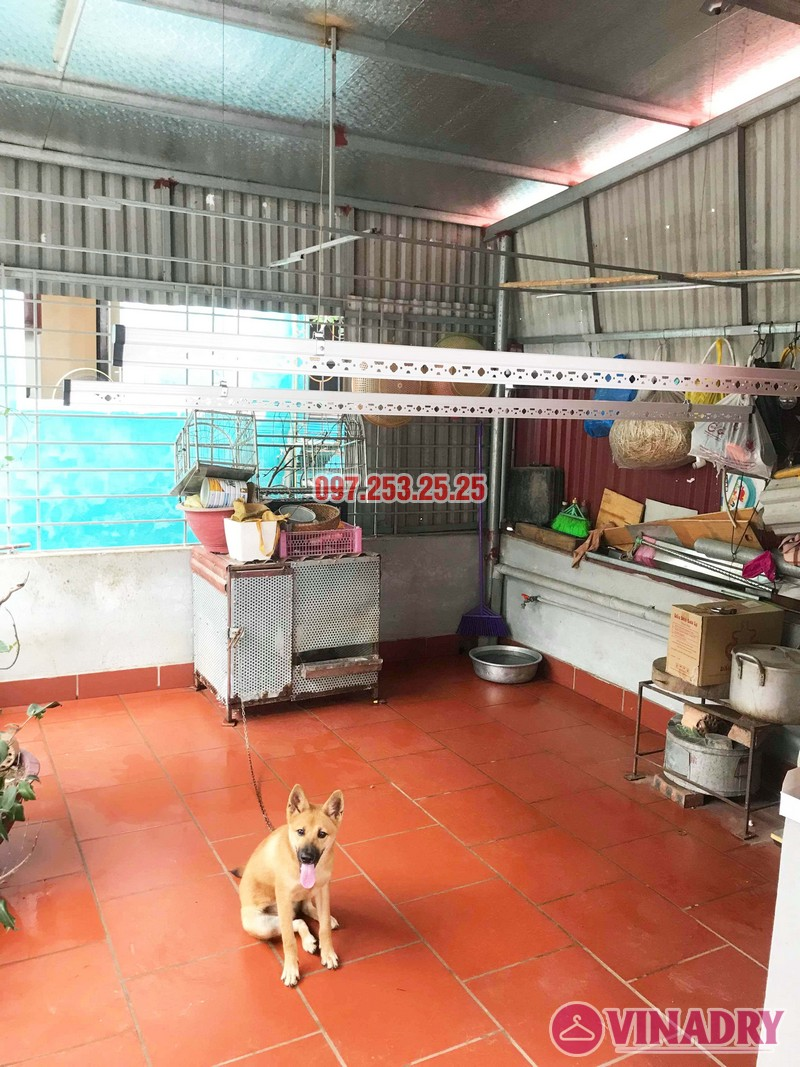 Lắp giàn phơi tại Hai Bà Trưng nhà anh Tiền, ngõ 230 Lạc Trung - 04