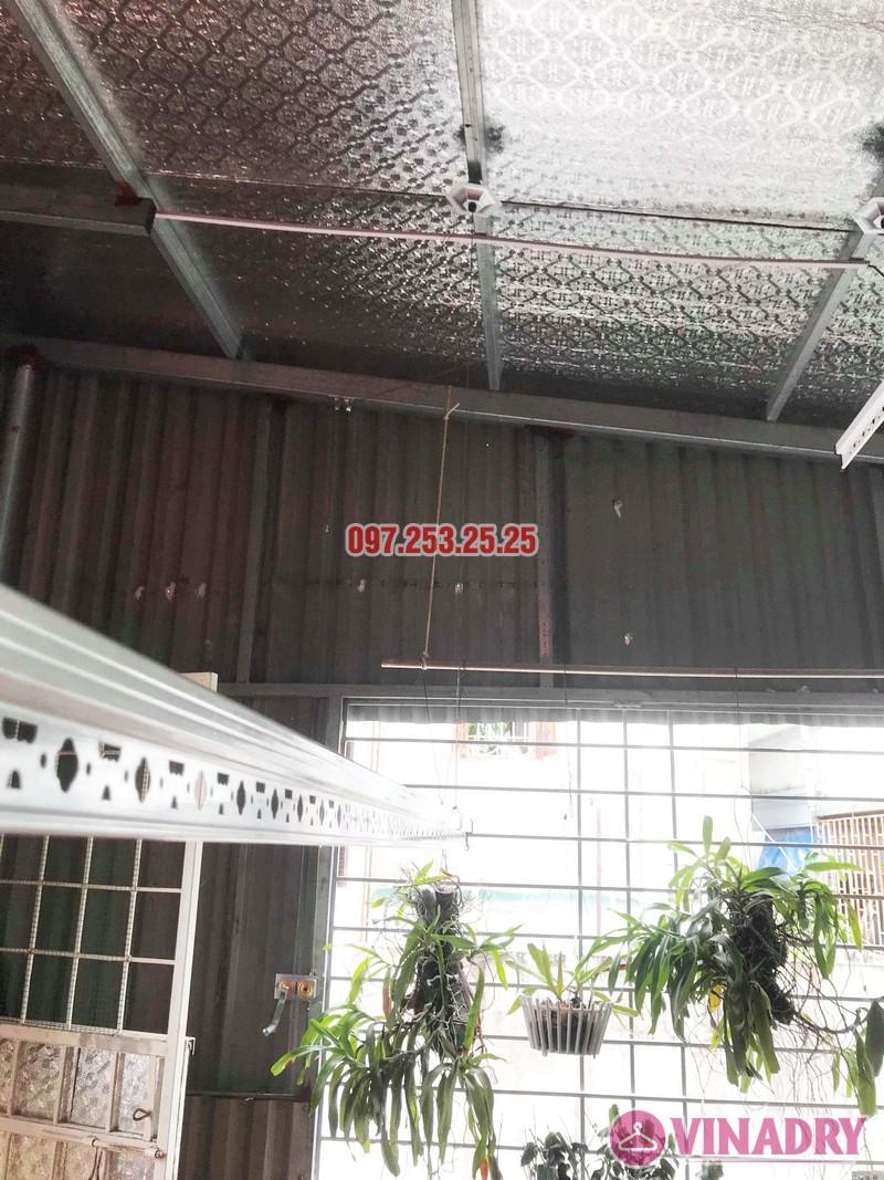 Lắp giàn phơi tại Hai Bà Trưng nhà anh Tiền, ngõ 230 Lạc Trung - 05
