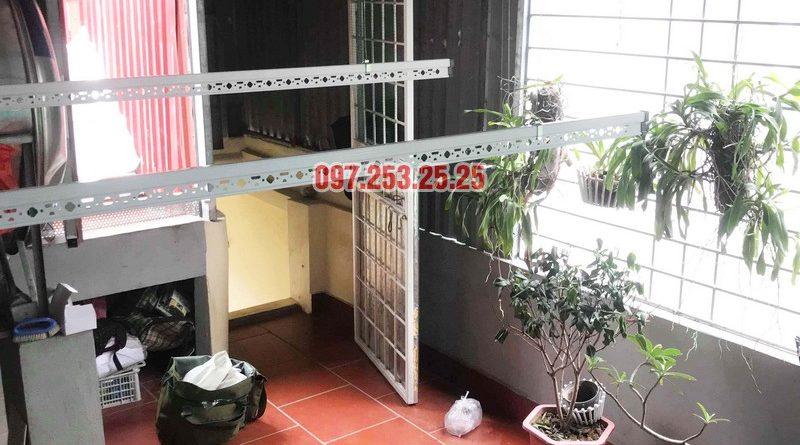 Lắp giàn phơi tại Hai Bà Trưng nhà anh Tiền, ngõ 230 Lạc Trung - 06