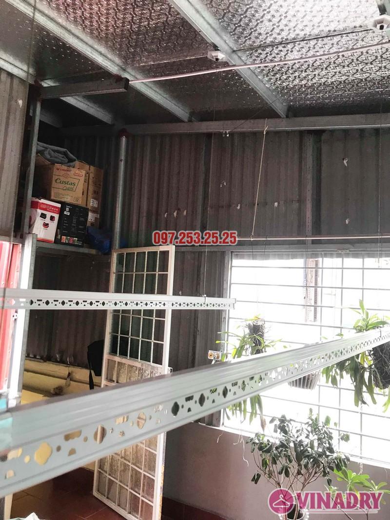 Lắp giàn phơi tại Hai Bà Trưng nhà anh Tiền, ngõ 230 Lạc Trung - 07