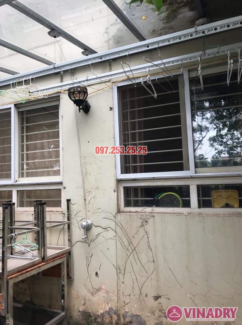Lắp giàn phơi tại KĐT Việt Hưng bộ Hòa Phát KS950 nhà anh Thiện - 01