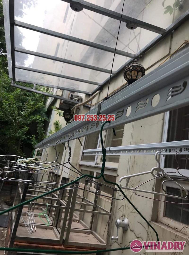 Lắp giàn phơi tại KĐT Việt Hưng bộ Hòa Phát KS950 nhà anh Thiện - 03
