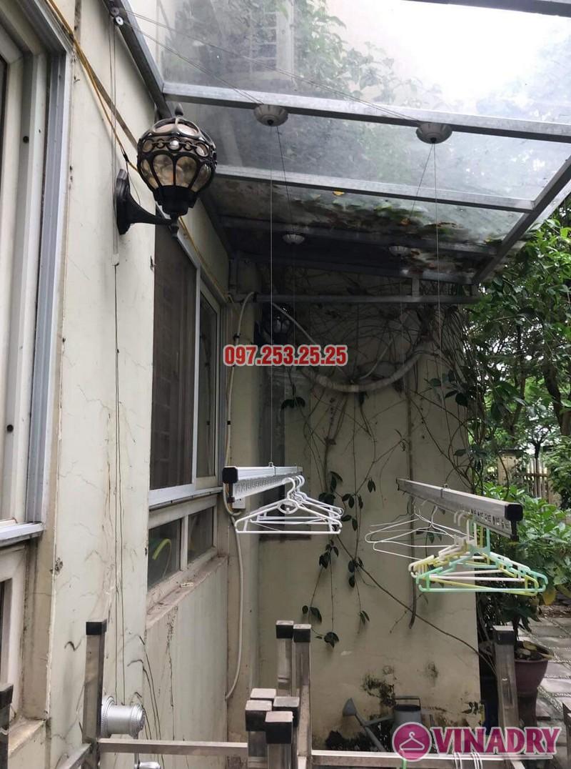 Lắp giàn phơi tại KĐT Việt Hưng bộ Hòa Phát KS950 nhà anh Thiện - 05