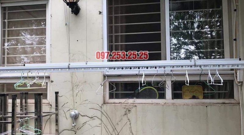 Lắp giàn phơi tại KĐT Việt Hưng bộ Hòa Phát KS950 nhà anh Thiện - 06