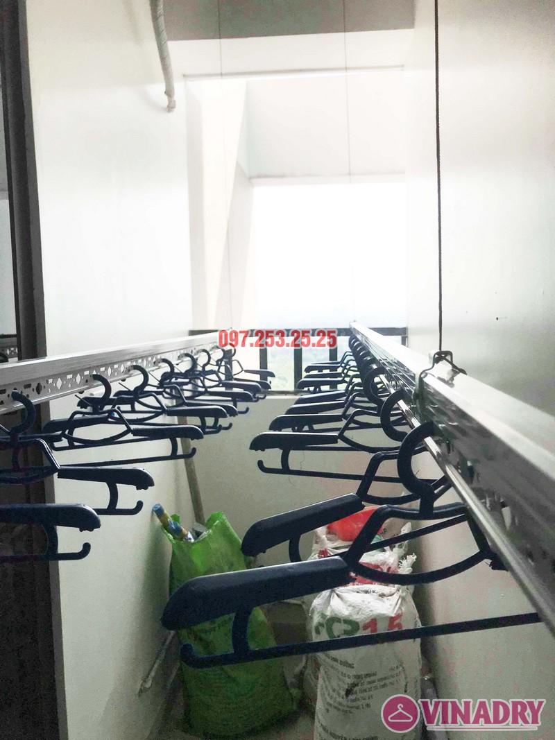 Lắp giàn phơi quần áo tại Long biên nhà chị Nhài, chung cư Valencia Garden - 07
