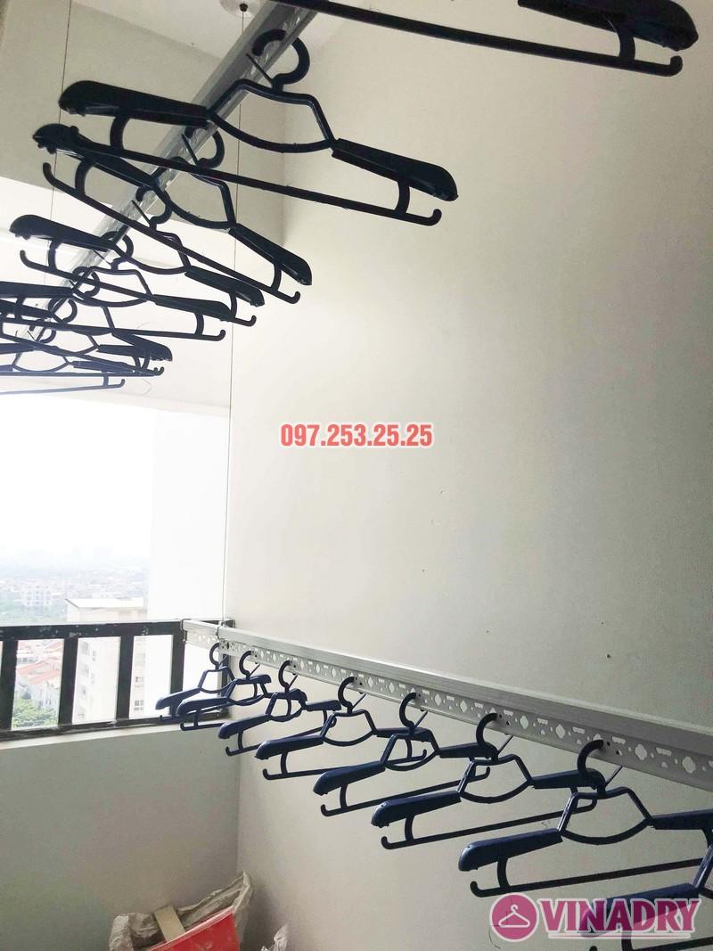 Lắp giàn phơi quần áo tại Long biên nhà chị Nhài, chung cư Valencia Garden - 05