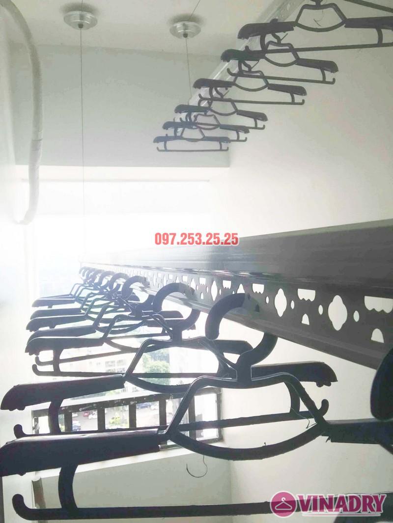 Lắp giàn phơi quần áo tại Long biên nhà chị Nhài, chung cư Valencia Garden - 03