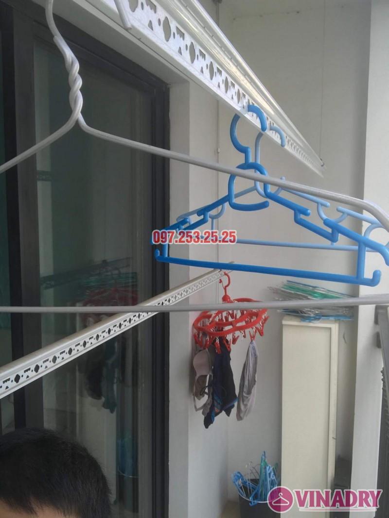 Sửa giàn phơi tại nhà giá rẻ: sửa giàn phơi nhà chị Hạnh, Tòa T4, Times City - 01