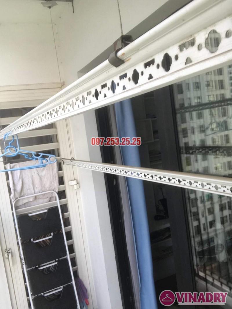Sửa giàn phơi tại nhà giá rẻ: sửa giàn phơi nhà chị Hạnh, Tòa T4, Times City - 04