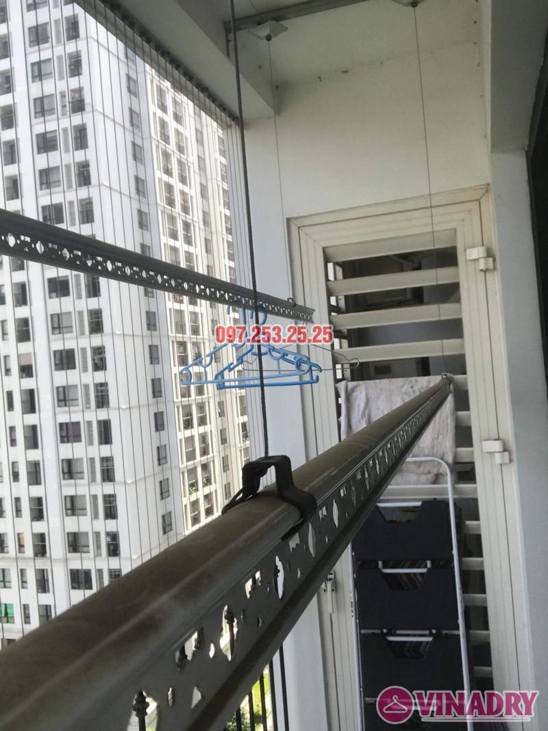 Sửa giàn phơi tại nhà giá rẻ: sửa giàn phơi nhà chị Hạnh, Tòa T4, Times City - 06