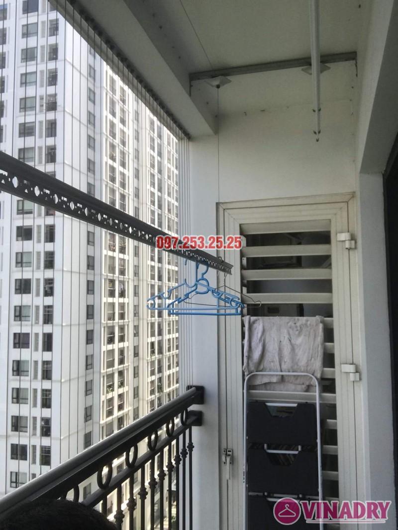 Sửa giàn phơi tại nhà giá rẻ: sửa giàn phơi nhà chị Hạnh, Tòa T4, Times City - 07