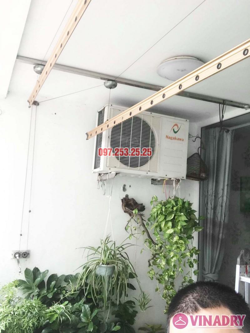 Sửa giàn phơi quần áo tại Cầu giấy nhà anh Hưng, chung cư Discovery Complex - 06