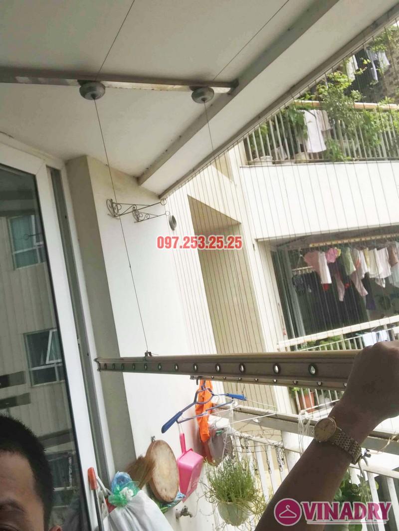 Sửa giàn phơi quần áo tại Cầu giấy nhà anh Hưng, chung cư Discovery Complex - 03