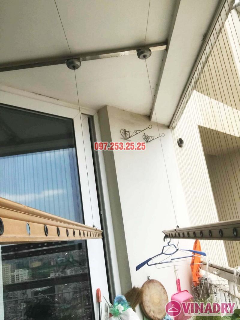 Sửa giàn phơi quần áo tại Cầu giấy nhà anh Hưng, chung cư Discovery Complex - 01