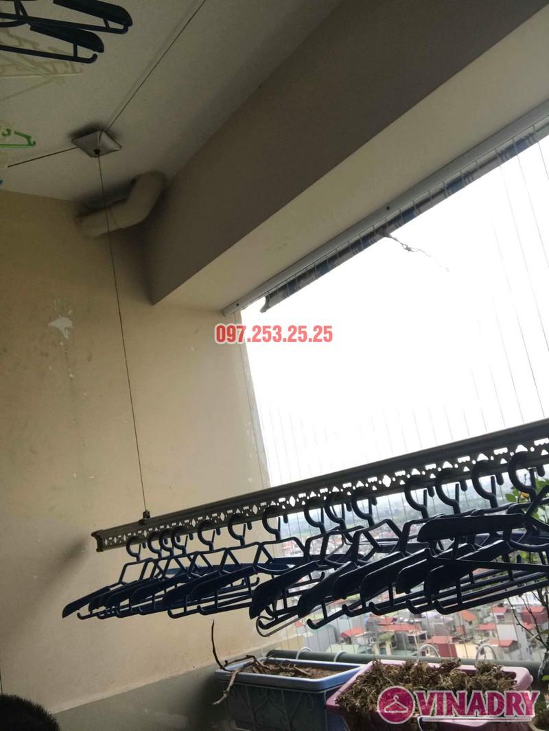 Sửa giàn phơi thông minh tại Gia Lâm Hà Nội nhà chị Minh, hẻm 68/29/11 Trâu Qùy - 03