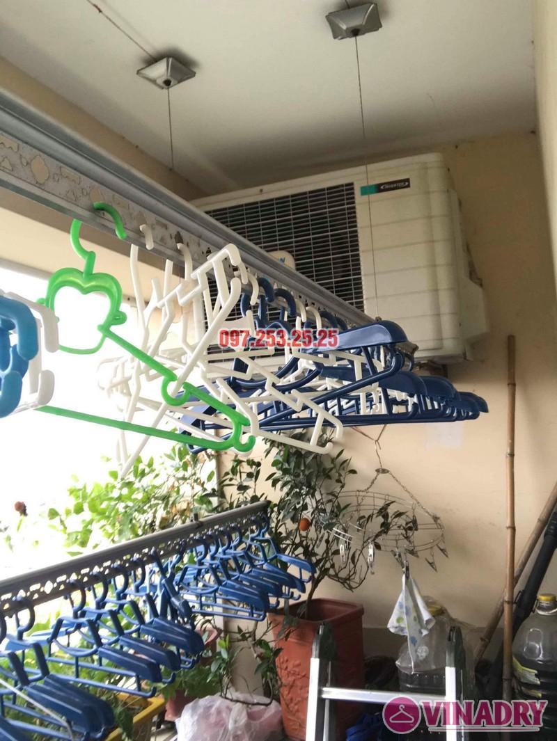 Sửa giàn phơi thông minh tại Gia Lâm Hà Nội nhà chị Minh, hẻm 68/29/11 Trâu Qùy - 05