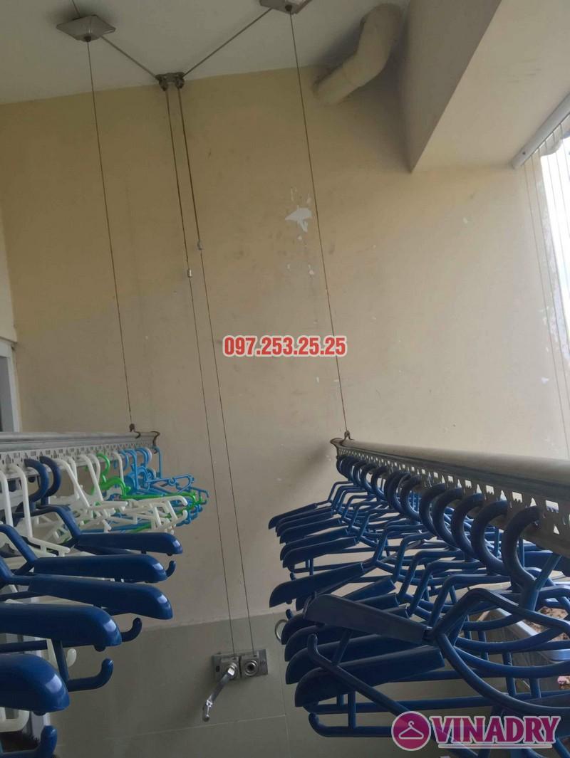 Sửa giàn phơi thông minh tại Gia Lâm Hà Nội nhà chị Minh, hẻm 68/29/11 Trâu Qùy - 06