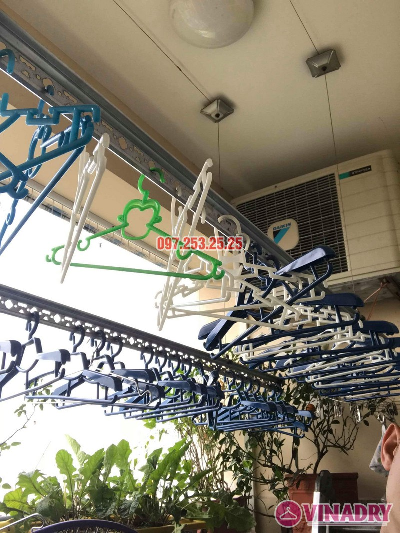 Sửa giàn phơi thông minh tại Gia Lâm Hà Nội nhà chị Minh, hẻm 68/29/11 Trâu Qùy - 08