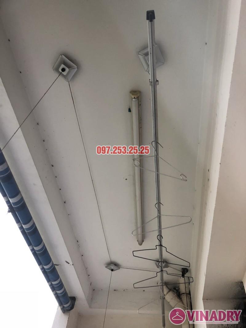 Thay dây cáp giàn phơi thông minh nhà chú Đại, P1201 Chung cư học viện Quốc Phòng - 05