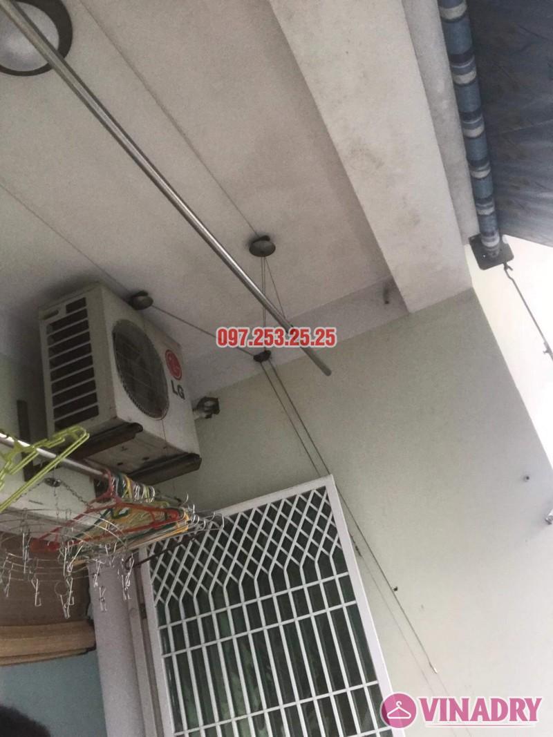 Sửa giàn phơi quần áo tại Long Biên nhà anh Hậu, chung cư CT19 Việt Hưng - 01