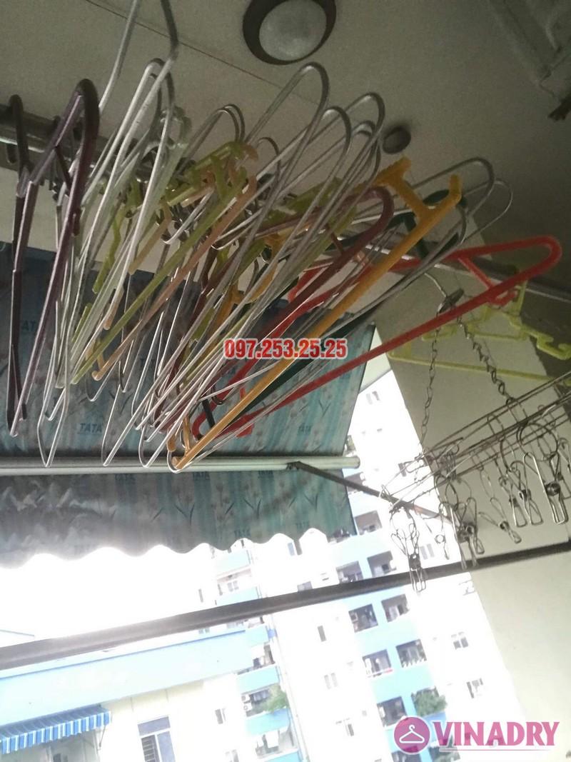 Sửa giàn phơi quần áo tại Long Biên nhà anh Hậu, chung cư CT19 Việt Hưng - 02