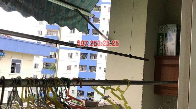 Sửa giàn phơi quần áo tại Long Biên nhà anh Hậu, chung cư CT19 Việt Hưng - 06