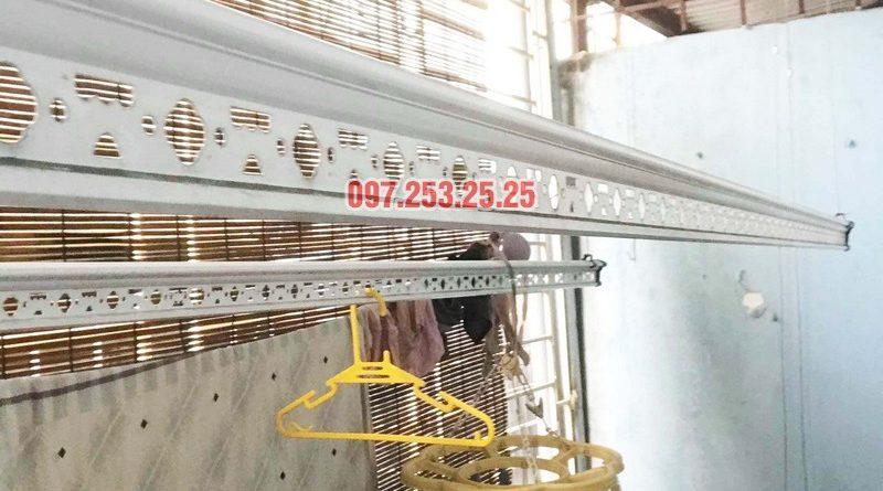 Sửa giàn phơi quần áo thông minh nhà chị Hải, Đại La, Hai Bà Trưng, Hà Nội - 03
