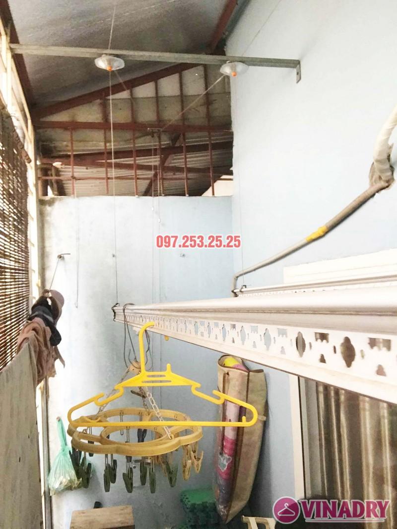 Sửa giàn phơi quần áo thông minh nhà chị Hải, Đại La, Hai Bà Trưng, Hà Nội - 04