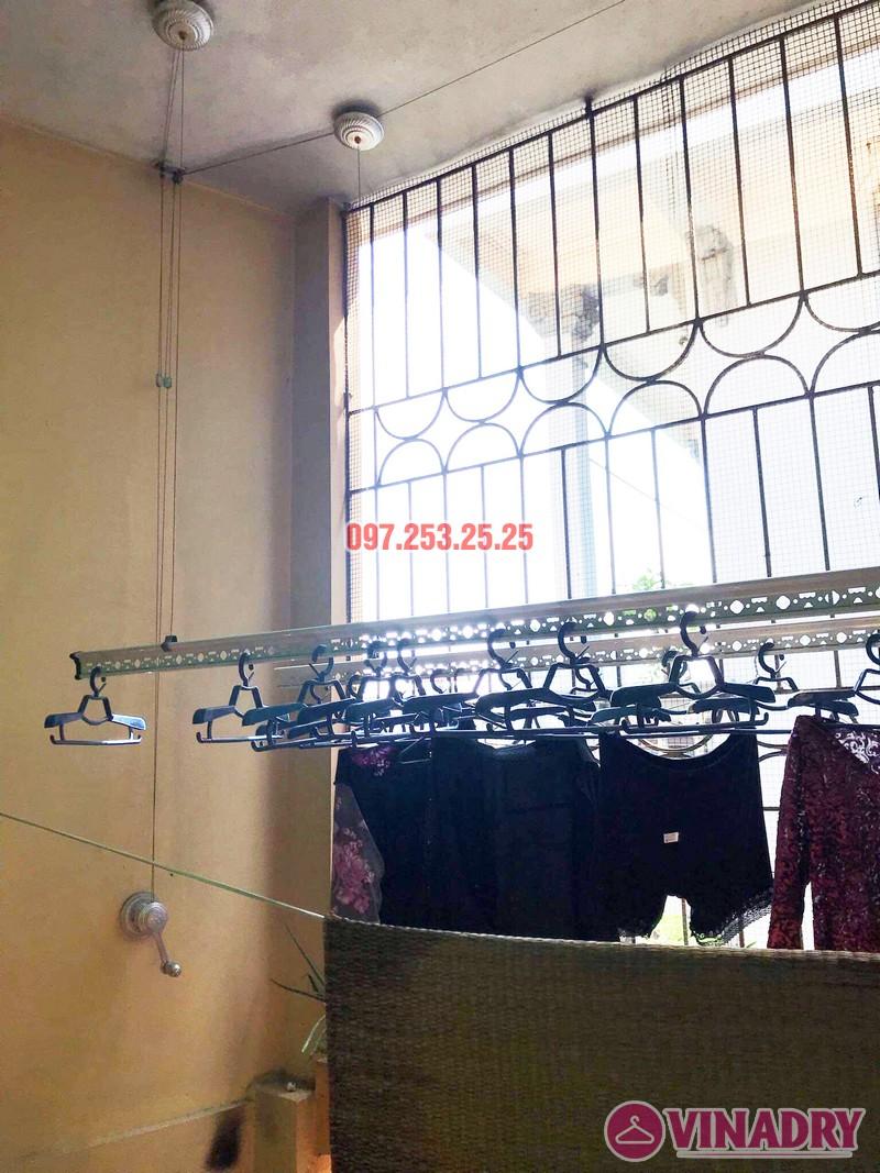 Thay dây cáp giàn phơi giá rẻ tại Hai Bà Trưng nhà cô Hợi, ngõ 191A/38 Đại La - 04